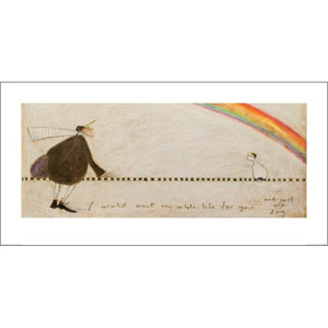 Sam Toft - I Would Wait My Whole Life For You Reproducere, (100 x 50 cm)