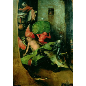 The Last Judgement : Detail of the Cask Reproducere, Hieronymus Bosch