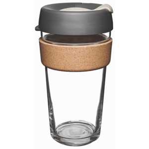 Cană de voiaj cu capac KeepCup Brew Cork Edition Press, 454 ml