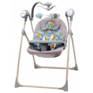 Leagan Electric Copii Cu Muzica Happy Baby Mix - Dino