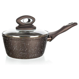 Cratiță Banquet Premium Dark Brown, antiaderent, 16 cm