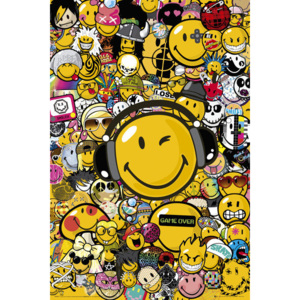 Smiley - Tribal Styles Poster, (61 x 91,5 cm)