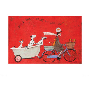 Sam Toft - Don't Dilly Dally on the Way Reproducere, (80 x 60 cm)