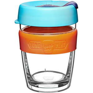 Cană de voiaj cu capac KeepCup LongPlay Shine, 340 ml