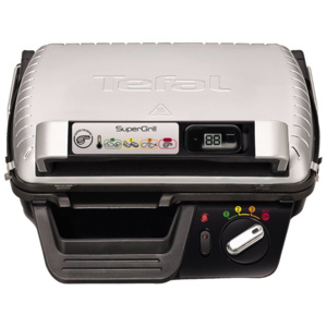 Gratar electric Tefal Super grill GC451B12 2000W Negru