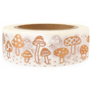Bandă adezivă washi Ohh Deer Mushrooms