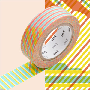 Bandă decorativă Washi MT Masking Tape Anne, rolă 10 m