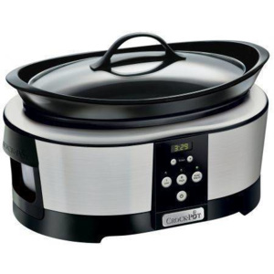 Multicooker Crock-Pot Slow cooker 5.7L Digital 220W Negru/Argintiu