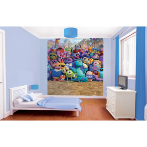 Monsters University - fototapet pe perete 203 x 24