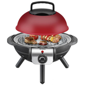 Gratar electric Trisa BBQ Junior 1000W Rosu / Negru