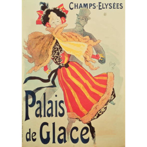 'Ice Palace', Champs Elysees, Paris, 1893 Reproducere, Jules Cheret