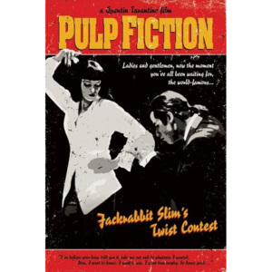 Pulp Fiction - Twist Contest Poster, (61 x 91,5 cm)